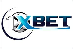 Лого на онлайн букмейкъра за залози 1xBet